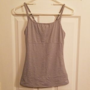 Gray shapewear cami